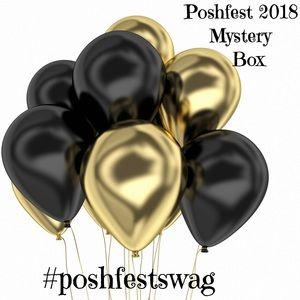 Poshfest 2018 swag mystery box